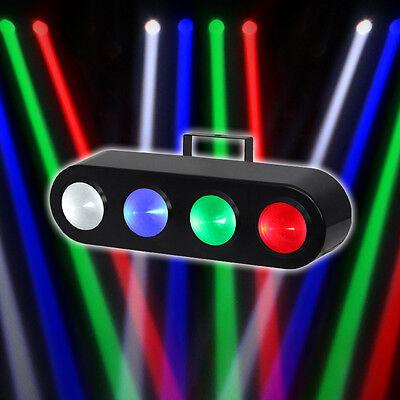 Equinox Beamer LED 4 Lens Beam Disco Effect Light DJ DISCO Auto Sound *Ex Demo*