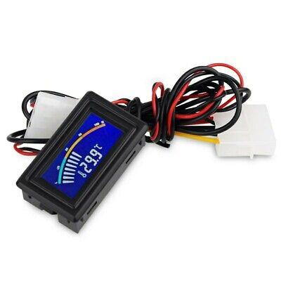 termómetro indicador Digital LCD medidor de temperatura del agua del coche