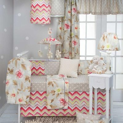 Glenna Jean Harper 4 Piece Crib Set Baby Bedding New In Orig