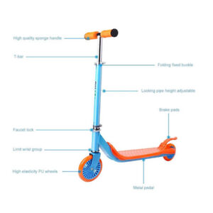 Kick Scooter with Height Adjustable Handlebar New In Sealed Box