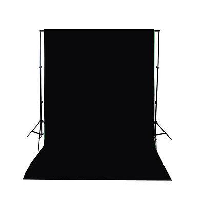 Black Thin Vinyl Photography Backdrop Background Studio Photo Props 3x5ft