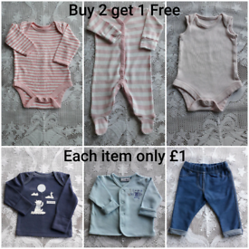 BABY CLOTHES BUY 2 GET 1 FREE