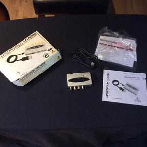 U-Control UCA202 Audio interface for Sale