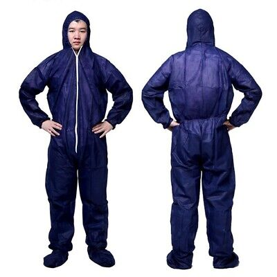 Disposable Protective Coveralls Overall Dust-proof Isolation Suit No Shoe Cover
