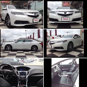 2015 Acura TL TLX - tech package V4 2.4L Sedan