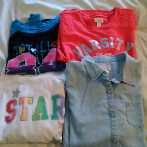 LOT OF GIRLS SIZE 14 CLOTHES; THE CHILDREN'S PLACE, 11 ITEMS IN Sarnia Sarnia Area image 1