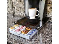 Coffee pod storage draw