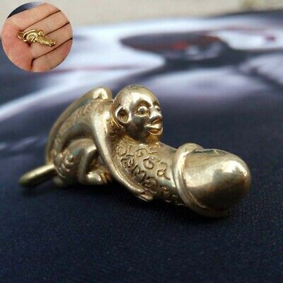 E Per Charm Amulet Cute Woman Powerful Magic Lucky Love Holy Fetish Brass Lover
