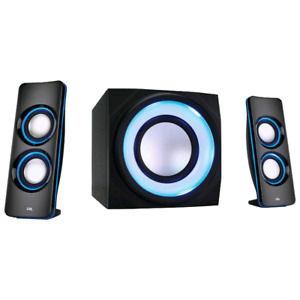 Cyber acoustic bluetooth speaker system