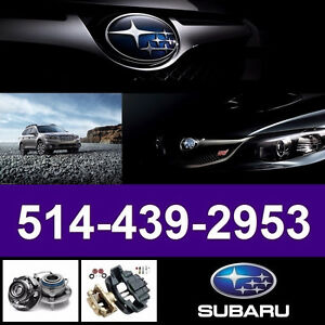 Subaru Outback ► Bearings, Calipers • Roulements, Étriers