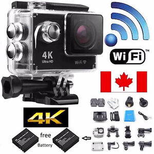 "H9 2.0"" Ultra 4K HD 1080P WiFi ActionDV Waterproof Sports Camera"