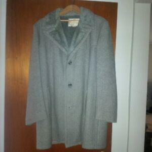 Men's Winter Coat, fully lined, grey London Ontario image 1