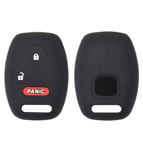 XUKEY Silicone Remote Key Case Fob Cover For Honda Accord Civic Odyssey CRV CRZ