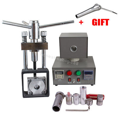 Dental Flexible Denture Injection Partial Machine Heater Hot Press 3-way Syringe
