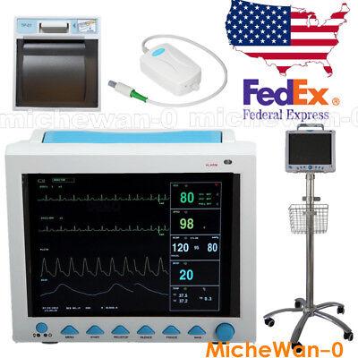 Contec Cms8000 Icu Ccu Vital Sign Patient Monitor Fda Ce Approved Usa Fedex