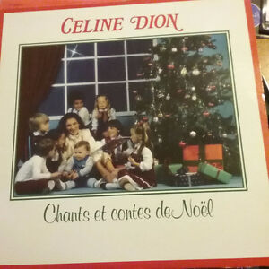 Celine dion vinyles