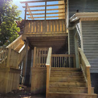 Decks, fences, pergola and more!