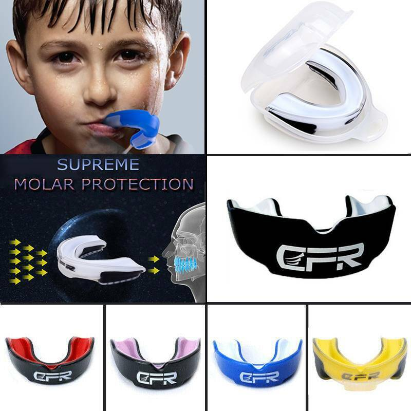 CFR Mouth Guard Boxing Basketball Rugby Gel Gum Shied Teeth