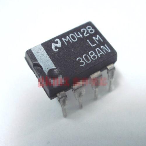 10pcs Lm308an Lm308 Nsc/mot Dip-8 Operational Amplifier