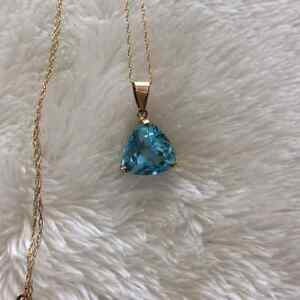 Beautiful Aquamarine Necklace