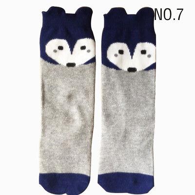 Baby Toddler Girl Knee High Long Socks Soft Cotton Princess Tights Y2B7