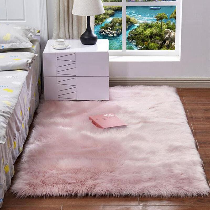 Fluffy Anti-Skid Rugs Bedroom