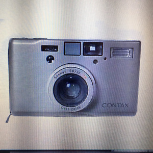 Vintage Contax G2 T3 or T2 35mm auto focus film Cameras