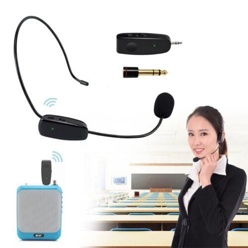 UHF Wireless Microphone Professional Head-wear Mic for Voice