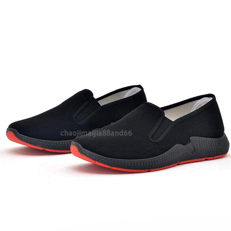 как выглядит Kung Fu Martial Arts Tai Chi Wingchun Driving Climbing Casual Slipper Shoes Men фото