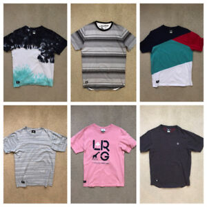 Men's LRG T-Shirts (more in pictures)