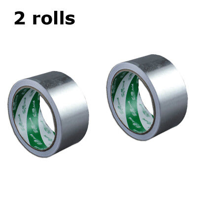 2 Rolls Screen Printing Aluminum Foil Tape Silk Screen Frame Stretching Tape