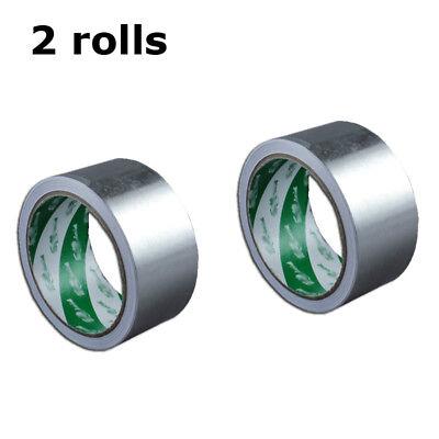 2 Rolls Screen Printing Aluminum Foil Tape Silk Screen Frame Stretching Tape