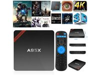 FULLY LOADED A95X QUAD CORE ANDROID TV BOX