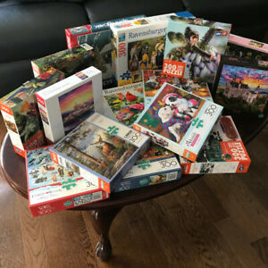 PUZZLES - ASSORTED LOT - MINT CONDITION