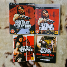 Limited edition Red dead redemption/ PS3 game/all good clean condition