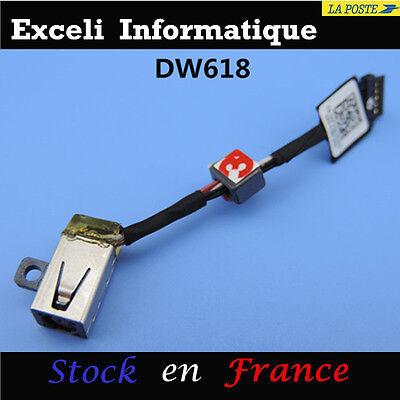 Dell XPS 13 9343 Computer Lade- Dc-Klinkenbuchse Stromkabel Stecker Einnahme ()