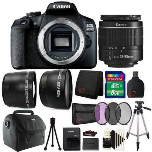 Canon EOS 2000D / Rebel T7 24....