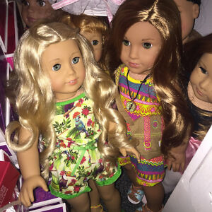 American Girl dolls, new, retired, and gently used! + clothing