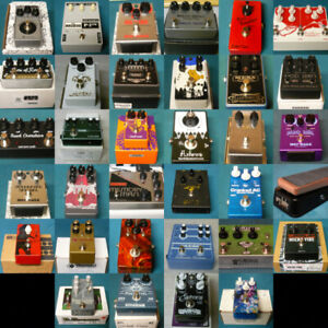 Pedals (Lovepedal Analogman Keeley EQD Zvex Dr Scientist +)