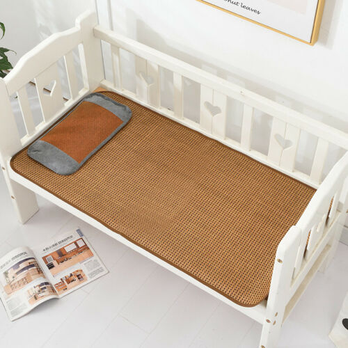 Baby bed mat cool feeling summer rattan mat Baby cool bed mattress multi-size