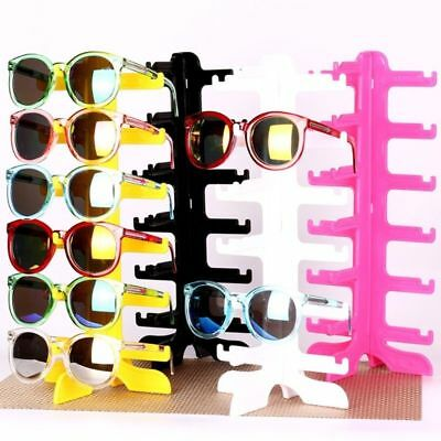 6pair Sunglasses Eyeglass Glasses Frame Rack Display Stand Show Holder Organizer