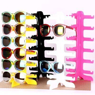 6pair Sunglasses Eyeglass Glasses Frame Rack Display Stand Show Holder Organizer