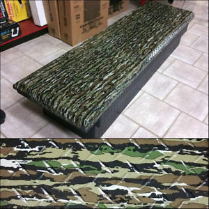 High End Camo Printed Truck Tool Boxes - Moving Sale