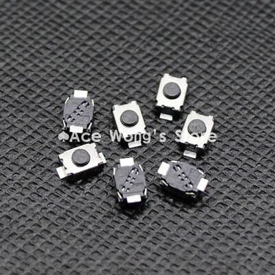 50pcs Smd 2pin 3x4mm Tactile Tact Push Button Micro Switch Momentary