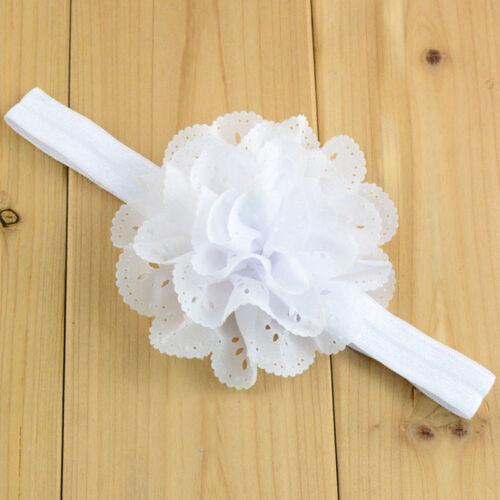 10 Style Baby Girl Flower Bow Hair Band Turban Knot Rabbit Headband Headwrap Lot