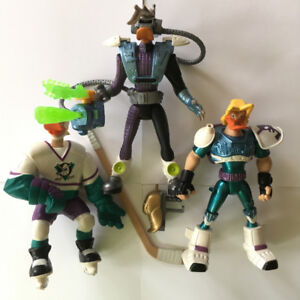 Mighty Ducks Action Figures Mattel 90s figures