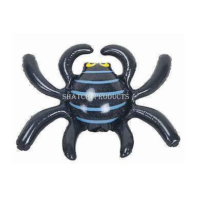 Spooky Halloween Inflatable Spider Decoration Haunted House Party Decor