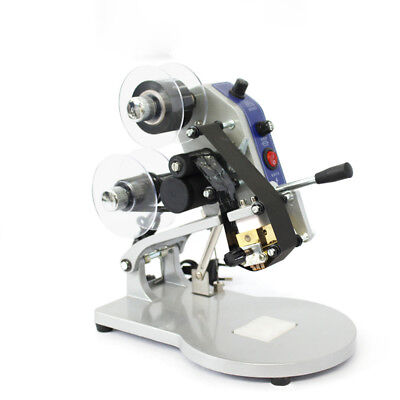 New Dy-8 Manual Hand Operated Hot Stamp Printer Coding Machine 100w 220v