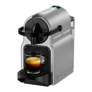 Nespresso Inissia Coffee Machine by De'Longhi, Silver