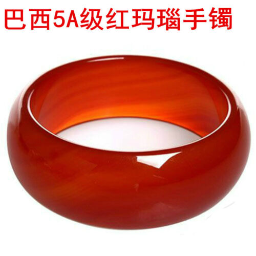 100/% Natural Red quartzite Jade Handmade Jade Bracelet  YZ13